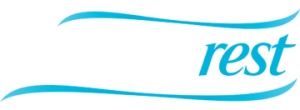 Beautyrest logo white