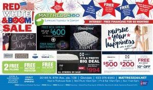 Mattress 360 July 4th Sales