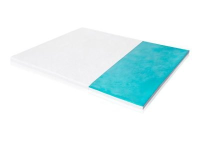 Malouf- 2.5″ Liquid Gel Memory Foam Topper
