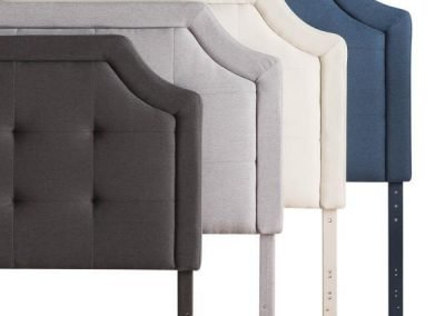Malouf-Scooped Square Tufted Upholstered Headboard