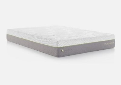 "MALOUF-Wellsville 11"" Latex Hybrid Mattress"