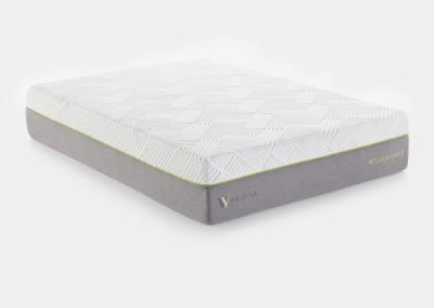 "MALOUF-Wellsville 14"" Latex Hybrid Mattress"