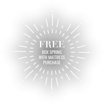 Free Box Spring with mattress purchase